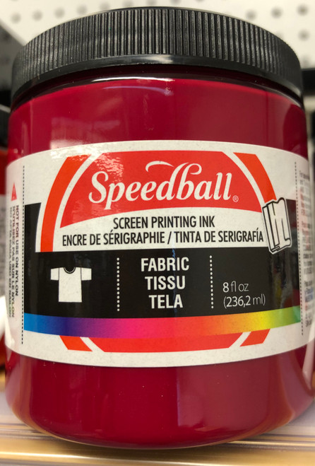 6245651, Fabric Screen Printing Ink,  8oz.    Process Magenta