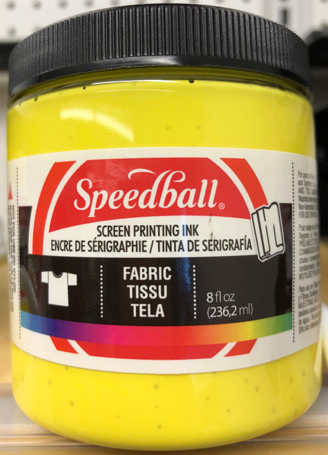6245652, Fabric Screen Printing Ink,  8oz.    Process Yellow