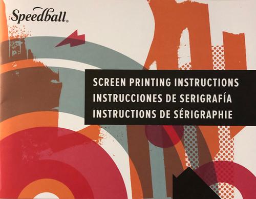 6245014, Screen Printing Instruction Manual