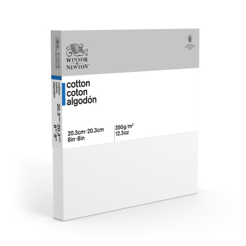 368008, Winsor & Newton Cotton Canvas,  8x8