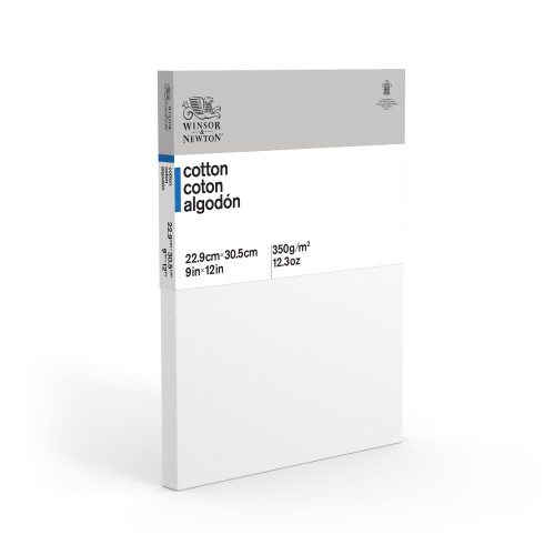 368012, Winsor & Newton Cotton Canvas,  9x12