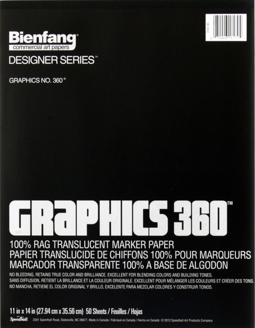 "341179, Graphics 360, 11"" x 14"" 50 sheets"