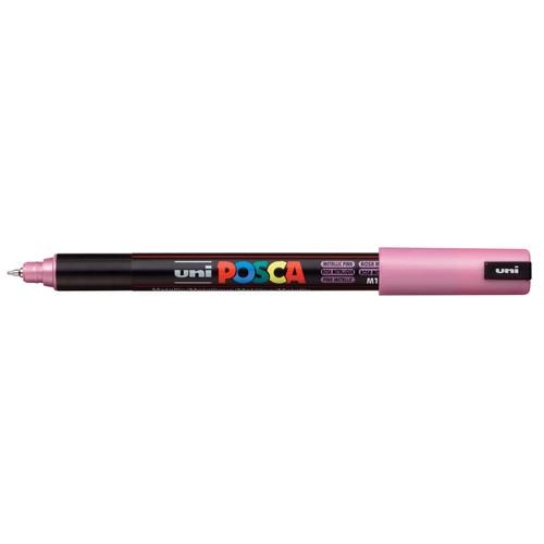 439217, Posca Extra Fine Marker,   Metallic Pink