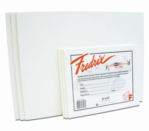 "365009, Fredrix Canvas Panel, 24""x36"""