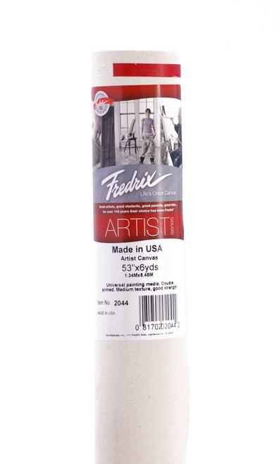 """365112, Fredrix Canvas Roll, """"Tara"""" Style 70, 53""""x6yds."""