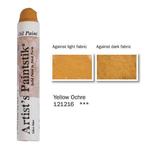 370931, Shiva Paintstik, Yellow Ochre