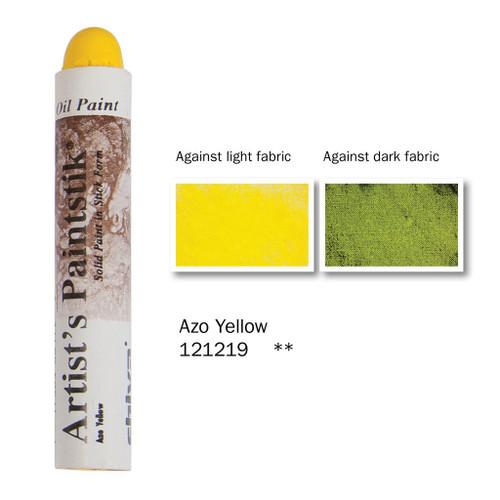 370934, Shiva Paintstik, Azo Yellow