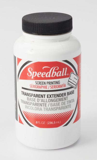 624532, Speedball Water-Soluble Transparent Extender Base, 8 oz.