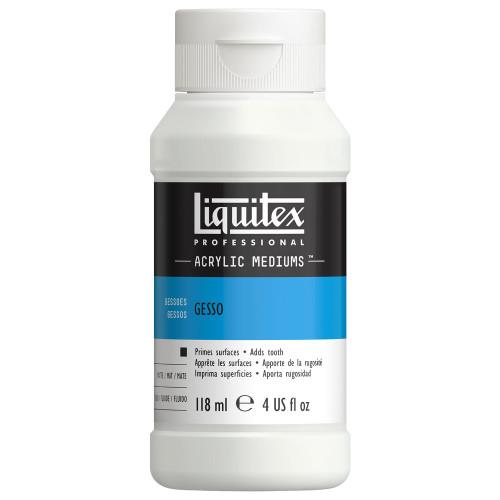 373150, Liquitex Gesso, White, 4 oz