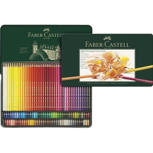 448005, Faber-Castell Polychromos Colored Pencil Set, 120 pc set