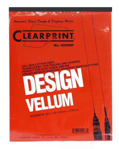 "313001, 1000H Vellum, 8.5 "" x 11"",  50 Sheets"