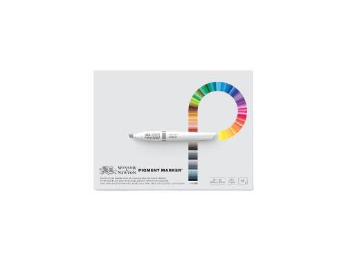 346242, Winsor & Newton Pigment Pad, 9x12, 20 lb, 50 Sheets