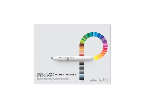 346243, Winsor & Newton Pigment Pad, 11x14, 20 lb, 50 Sheets