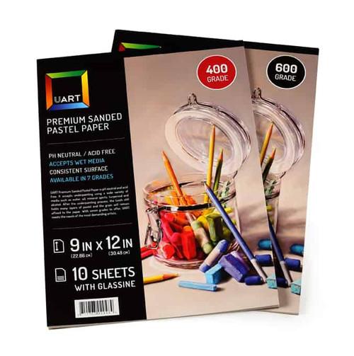 343703, Uart Premium Sanded Pad #400, 9x12, 10 Sheet