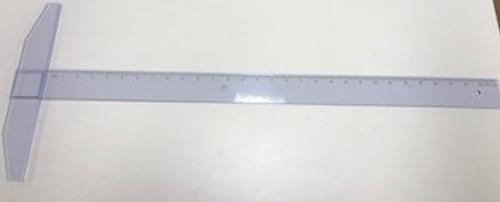 """571299, Transparent Plastic T-Square  30"""""""