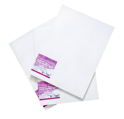 """341020, JRC Studio Watercolor Pad, 11""""x15"""", 135# Cold Press, 25 Sheets"""