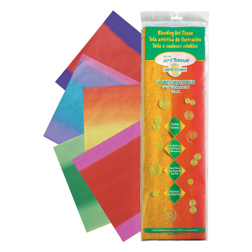 """341385, Spectra Madras Pattern Tissue Paper, 12""""x18"""", 50 Sheets"""