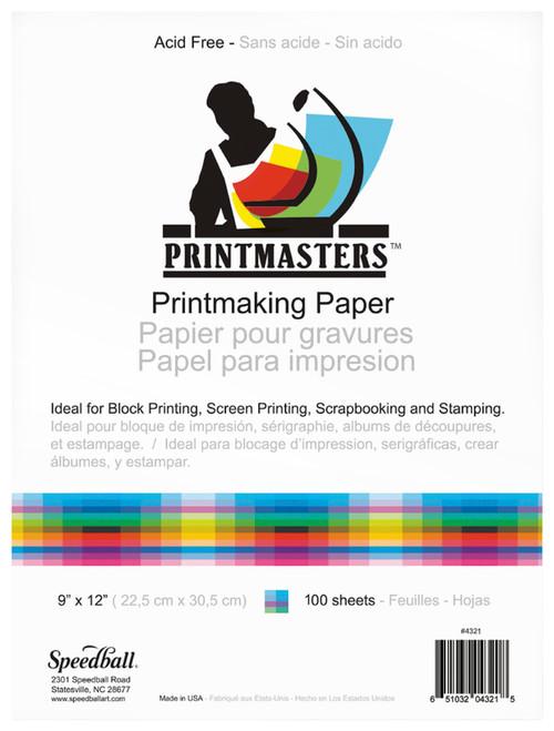 """341950, Printmaster Pad, 9""""x12"""", 100 Sheets"""
