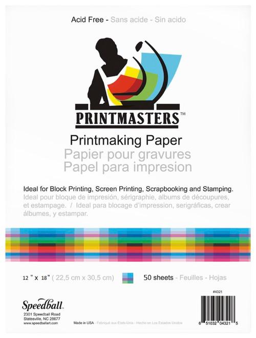 """341951, Printmaster Pad, 12""""x18"""", 50 Sheets"""