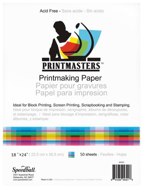 """341952, Printmaster Pad, 18""""x24"""", 50 Sheets"""