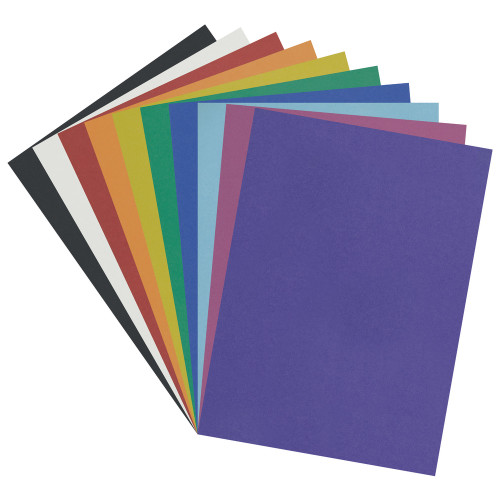"342397, Pacon Poster Board Class Pack, 22""x28"", Assorted Colors, 50 Sheets"