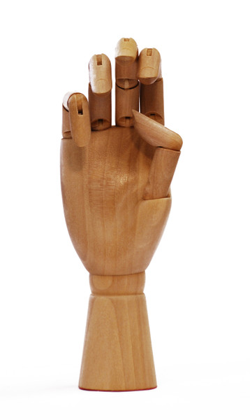 419330, Wooden Hand, Female (Right hand)