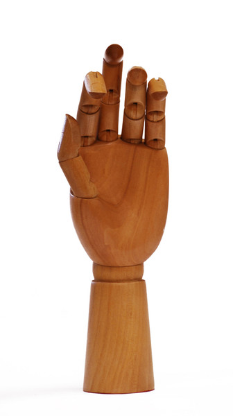 419331, Wooden Hand, Male (Right hand)