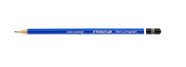 443012, Staedtler Mars Lumograph Pencil, 2B, Dozen