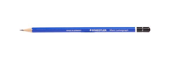 443009, Staedtler Mars Lumograph Pencil, F, Dozen