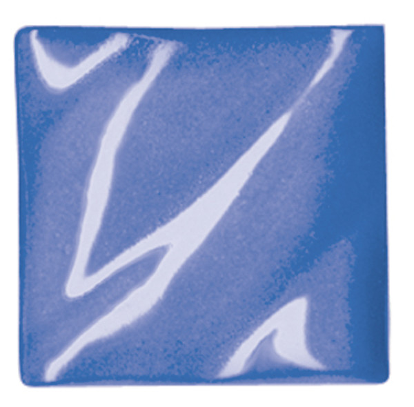612204, Amaco Liquid Underglaze, LUG-21, Medium Blue, Pint