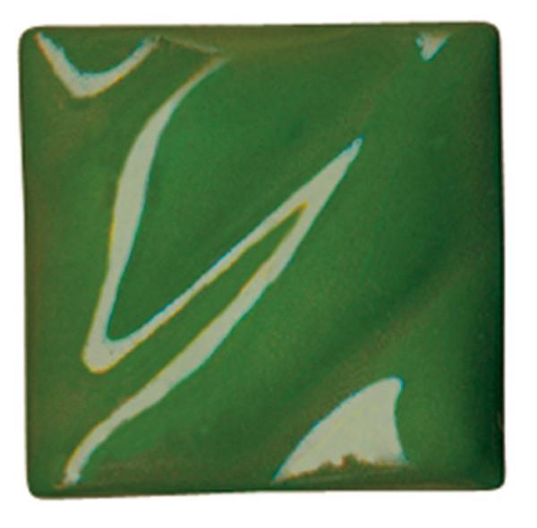 612213, Amaco Liquid Underglaze, LUG-43, Dark Green, Pint