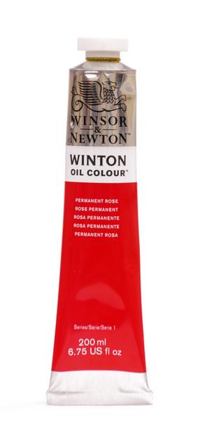 372700, Winton Oil Colour, Permament Rose, 200ml.