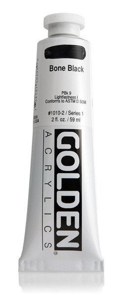 378001, 1010-2 HB Bone Black, 2 oz tube