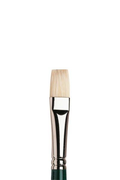 402130, Winton Hog Brushes: Short Flat/Bright, 5973 708  Size 8