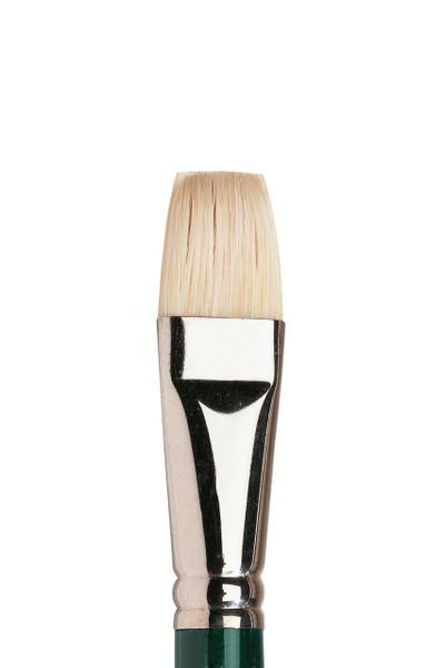 402132, Winton Hog Brushes: Short Flat/Bright, 5973 712  Size 12