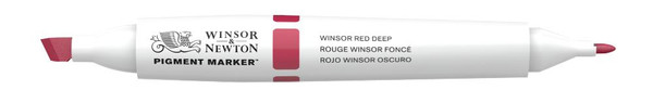 447858, WN PIGMENT MARKER - WINSOR RED DEEP
