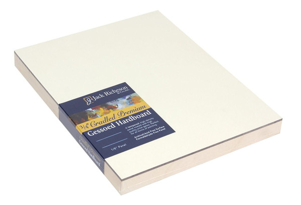 """364822, WHITE  3/4"""" CRADLED GESSOBOARD , 6""""x 12""""              each"""