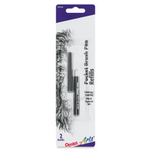 437901, Pentel Pocket Brush Pen Refill