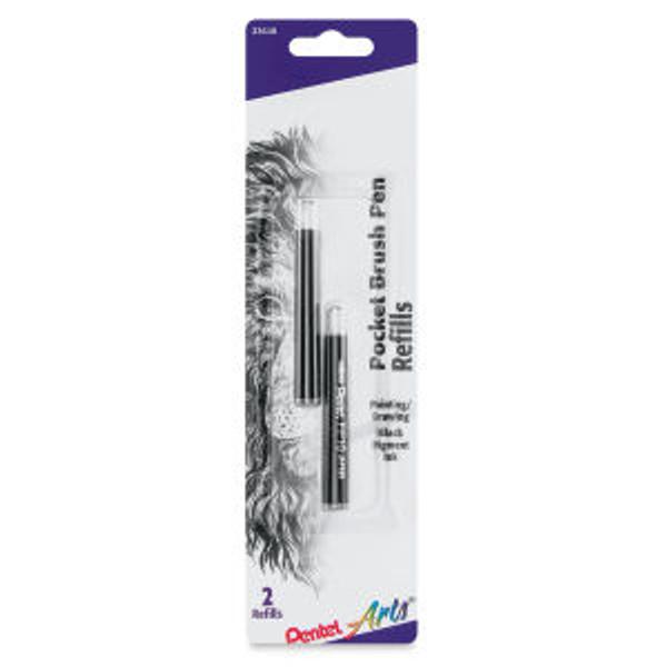 437901, Pentel Pocket Brush Pen Refill