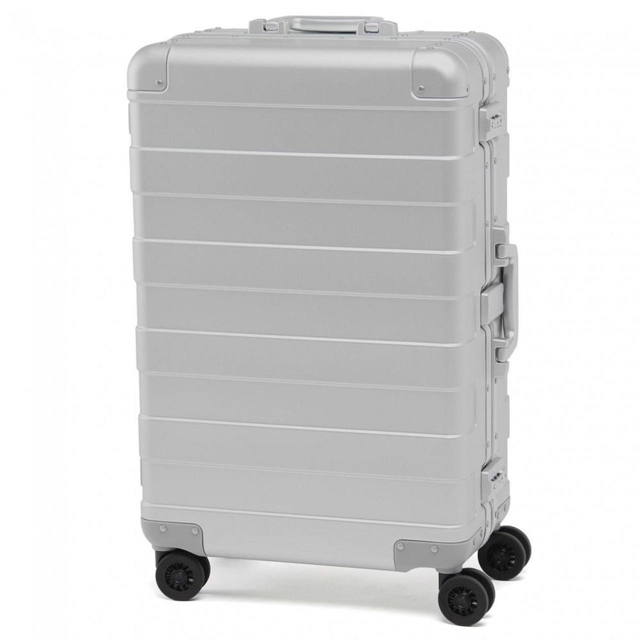 Sale Price Muji Aluminum Suitcase 60l Tsa Lock Carry Bag Roller Wheelie Luggage Trolley 38689270