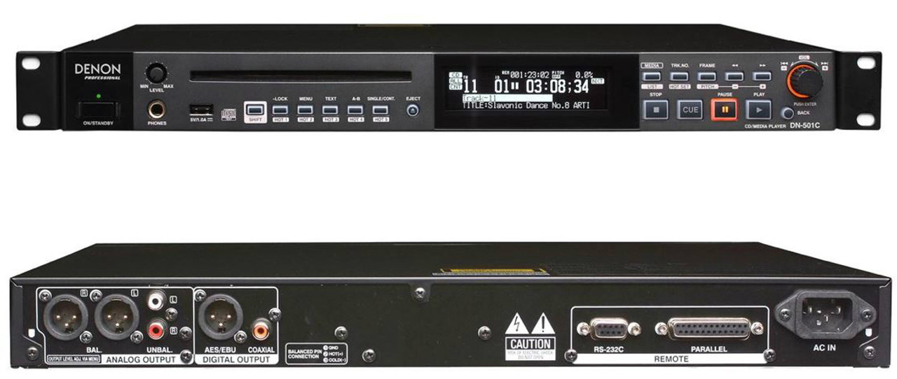 Denon Professional CD/Media Player, DN-501C