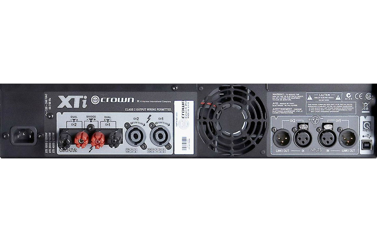 Crown CTS-1200 Two-channel 600W Power Amplifier
