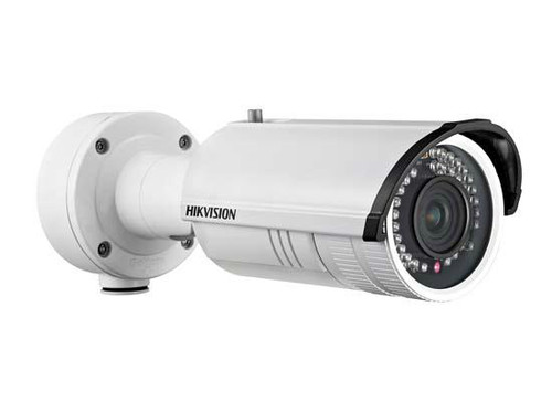 Hikvision 1.3MP/720p Infrared Outdoor Bullet Network Camera 2.8-12mm, DS-2CD4212FWD-IZH