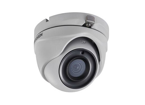 Hikvision Outdoor IR Turret, TurboHD 3.0, HD-TVI, HD1080p, 2.8mm, 20m EXIR 2.0, Day/Night, True WDR, Smart IR, IP66, 12 VDC, DS-2CE56D7T-ITM-2.8MM