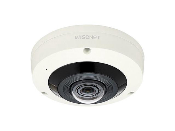 Hanwha Techwin 6MP Outdoor Vandal Resistant Fisheye Network Camera, XNF-8010RV