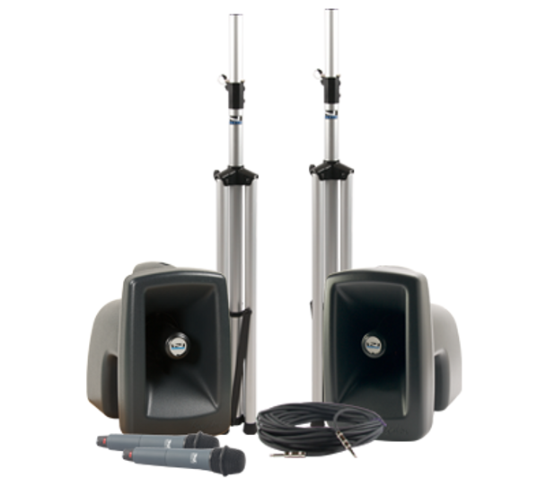 Anchor Audio MegaVox Deluxe Package DUAL Wireless, MEGA-DPDUAL