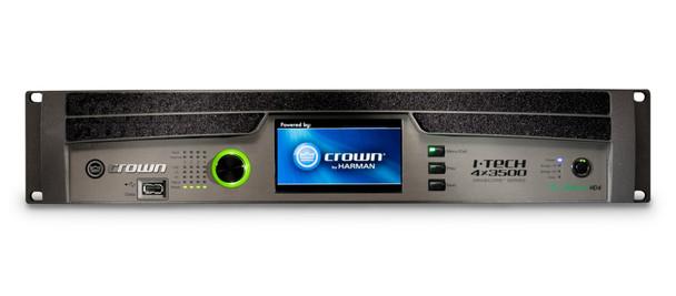 Crown FourChannel 4000W @ 4 Ohm Power Amplifier, I-Tech IT4X3500HDS