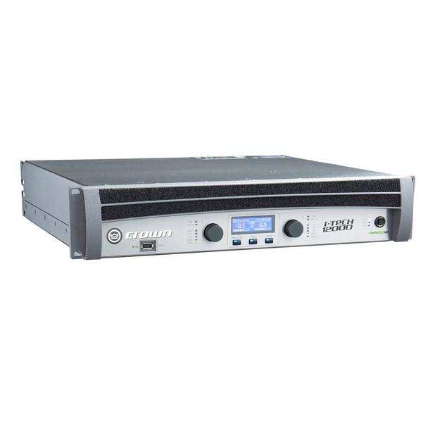 Crown Two Channel 4500W @ 4 Ohm Power Amplifier,  I-Tech IT12000HD