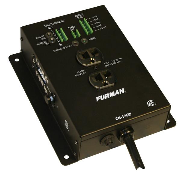 Furman 15A Remote Duplex, EVS, Smart Sequencing, 10Ft Cord, CN-15MP