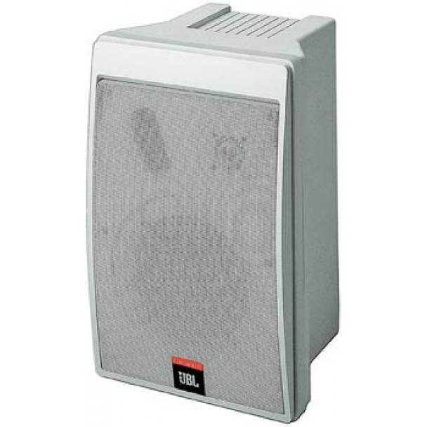 JBL Compact Size Two-Way Speakers (Pair) White, CONTROL 5-WH